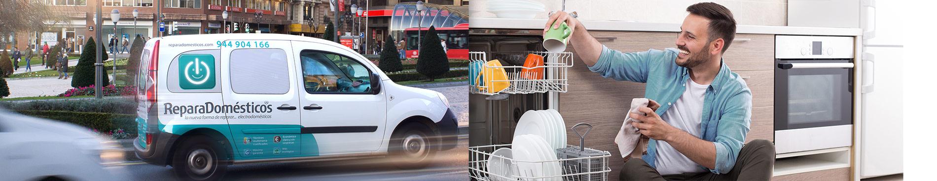 Reparadom sticos servicio t cnico reparaci n lavavajillas for Servicio tecnico philips bilbao